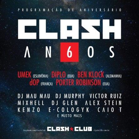 Clash 6 anos