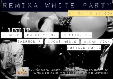 Flyer 2 Remixa White King Club