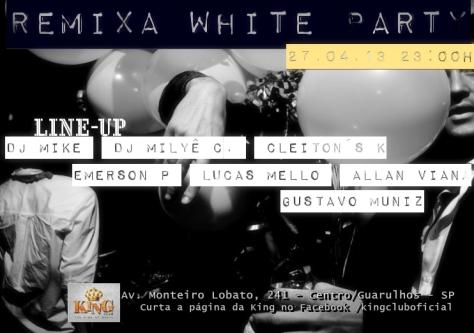 Flyer 2 Remixa White King Club