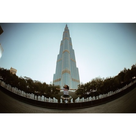 steveaoki#aokijump #520. The Burj Khalifa Jump. Dubai, United Arab Emirates. February 6, 2014. #burjkhalifa #aokifydubai