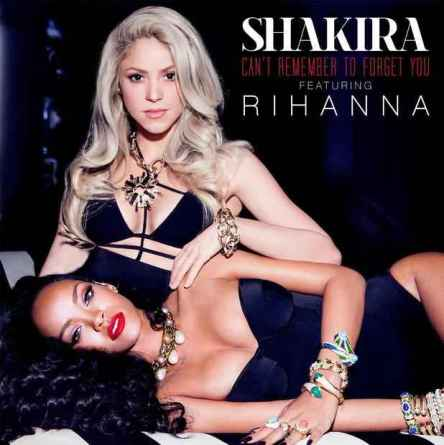 Shakira ft Rihanna artwork