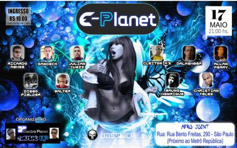 E-Planet @ Afro Joint 17-05-2014